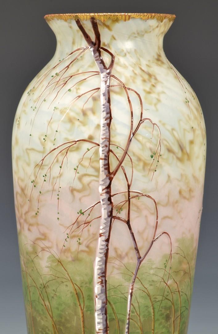 Lot 481: French Cameo Art Glass Vase, poss. Daum