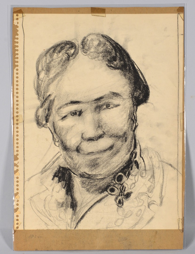 Lot 495: 5 TN Joseph Delaney Drawings