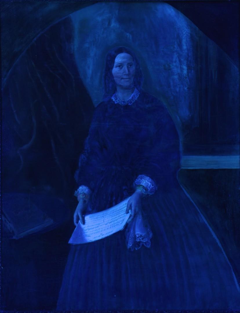 Lot 504: Portrait, possibly Jenny Lind or Fanny Mendelssohn