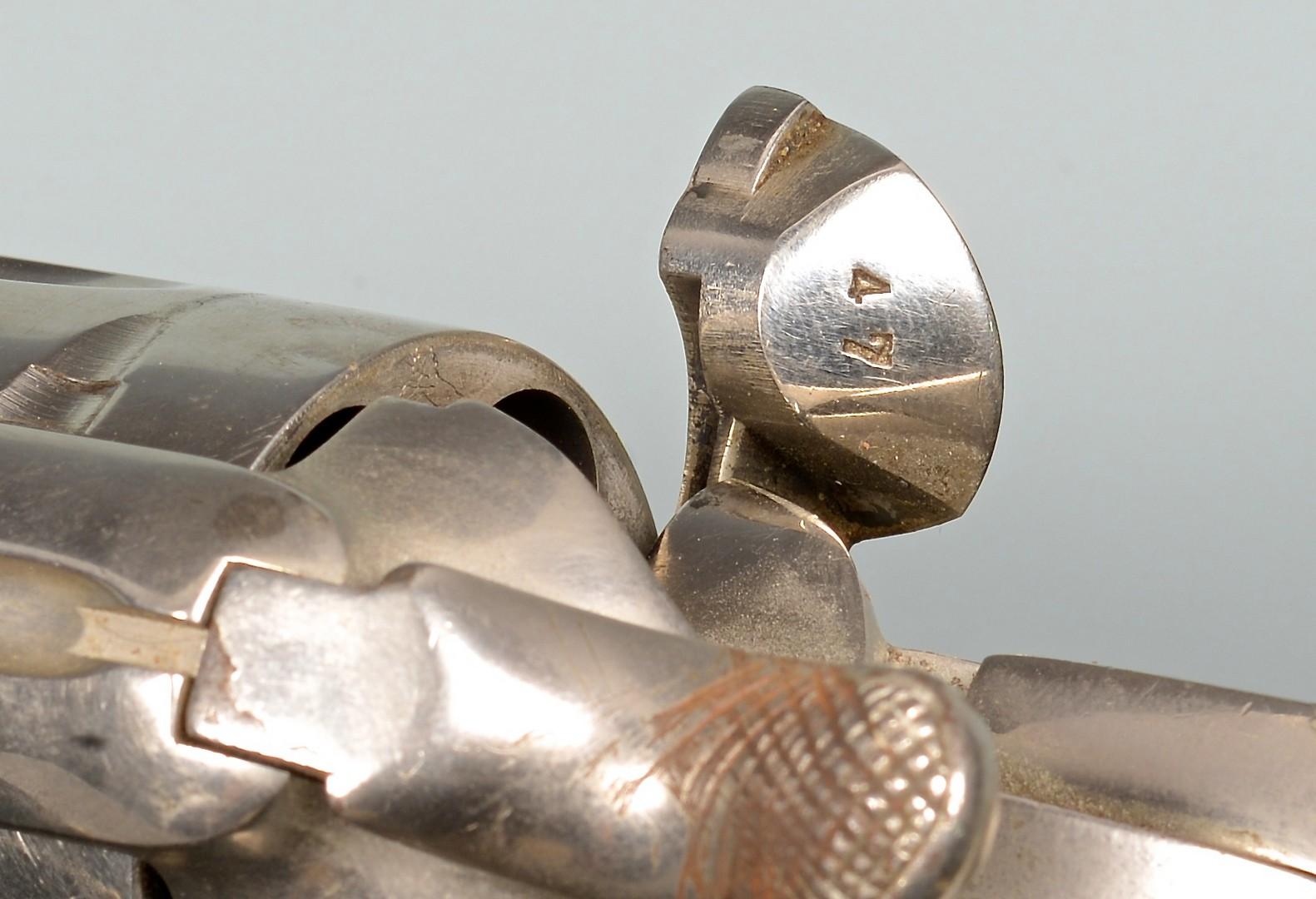 Lot 541: 2 Colt Pistols, .45 Caliber w/ Turquoise Inlays wi