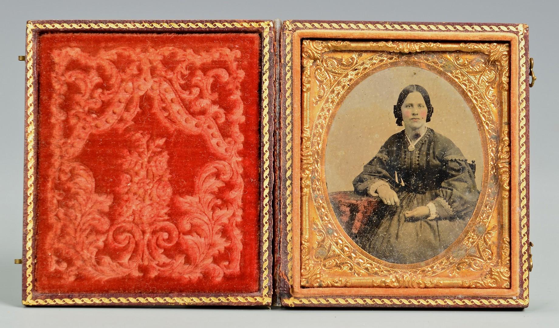 Lot 546: 3 Early Civil War Era Images