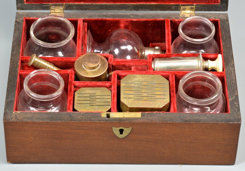 Lot 547: Civil War Bloodletting Kit