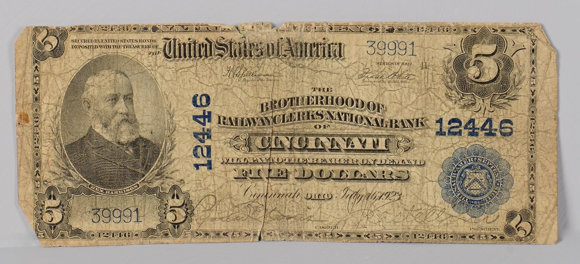 Lot 555: Civil War era Bond & Stock Certificate