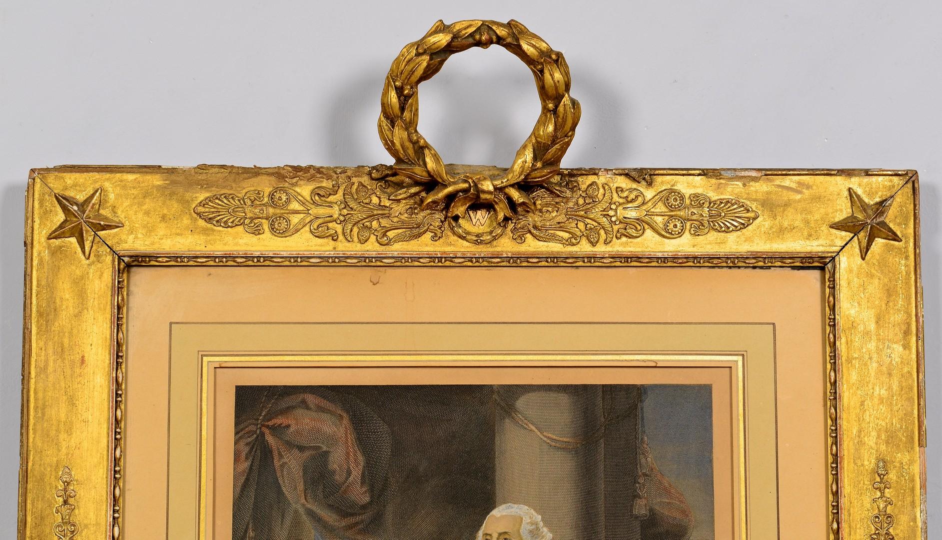 Lot 566: George Washington Engraving after Stuart