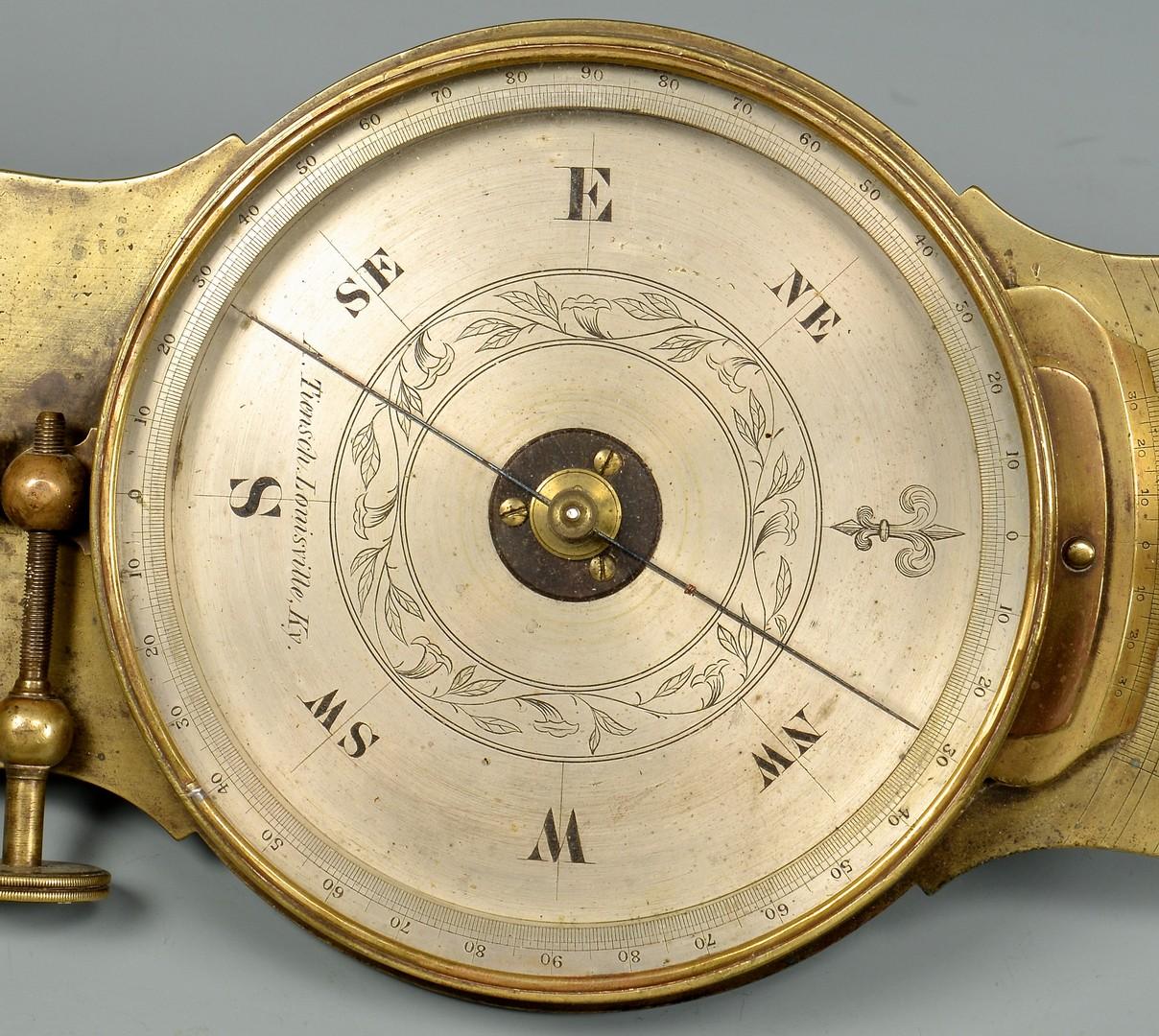Lot 575: Tiensch Louisville, Kentucky Transit Level Compass