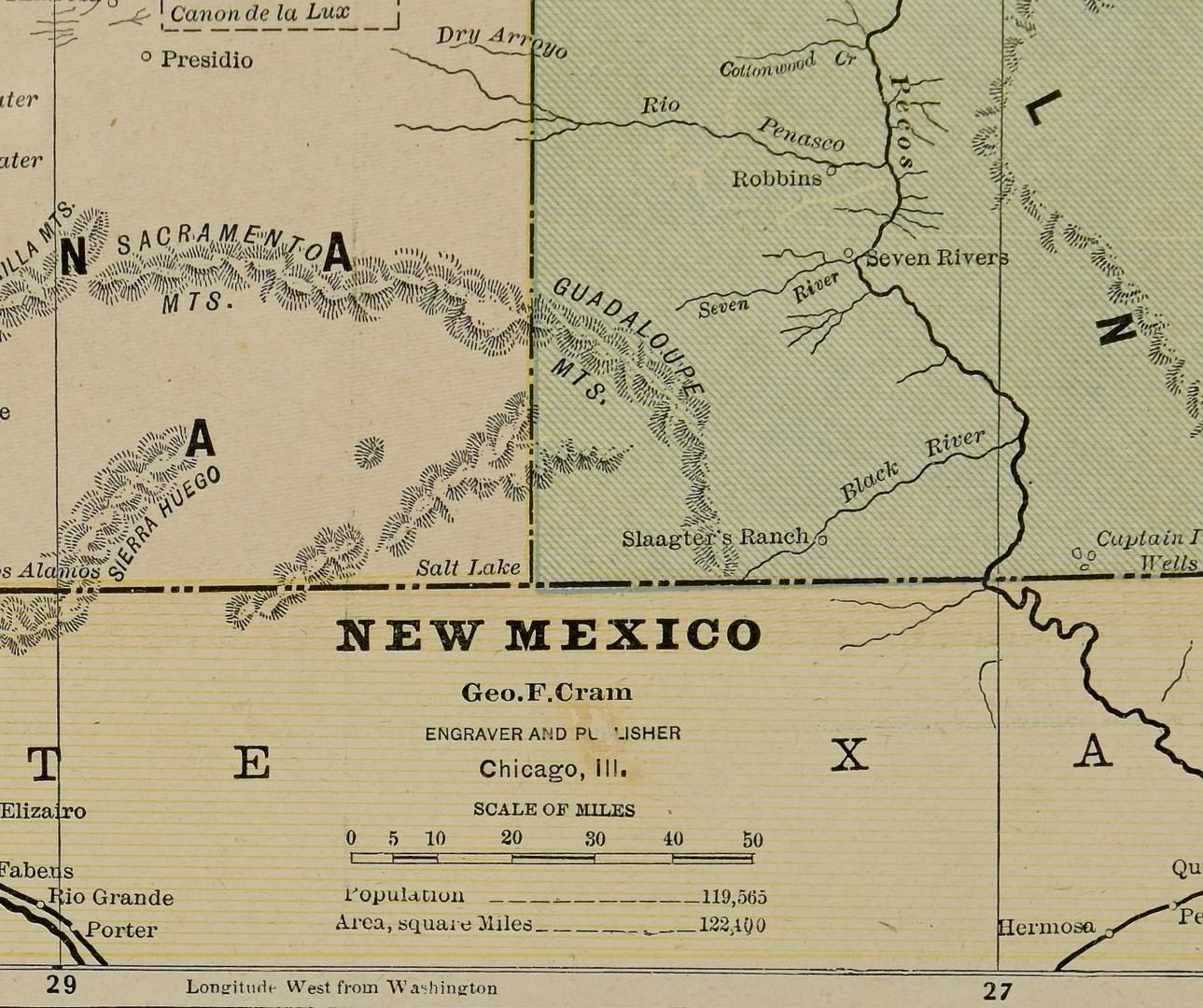 Lot 576: 3 Southwestern Maps