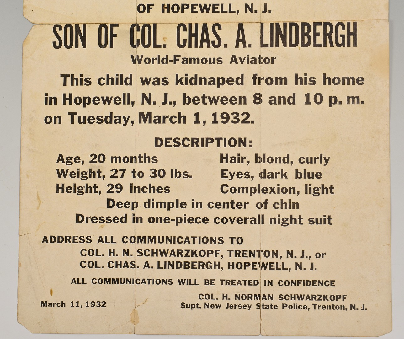 an overview of the lindbergh act enforced in 1932 Kidnapping of charles lindbergh's son newsreel coverage of the 1932 kidnapping of the young son of aviator charles a lindbergh stock footage courtesy the wpa film library charles lindbergh testifying at the murder trial of bruno hauptmann, january 1935.