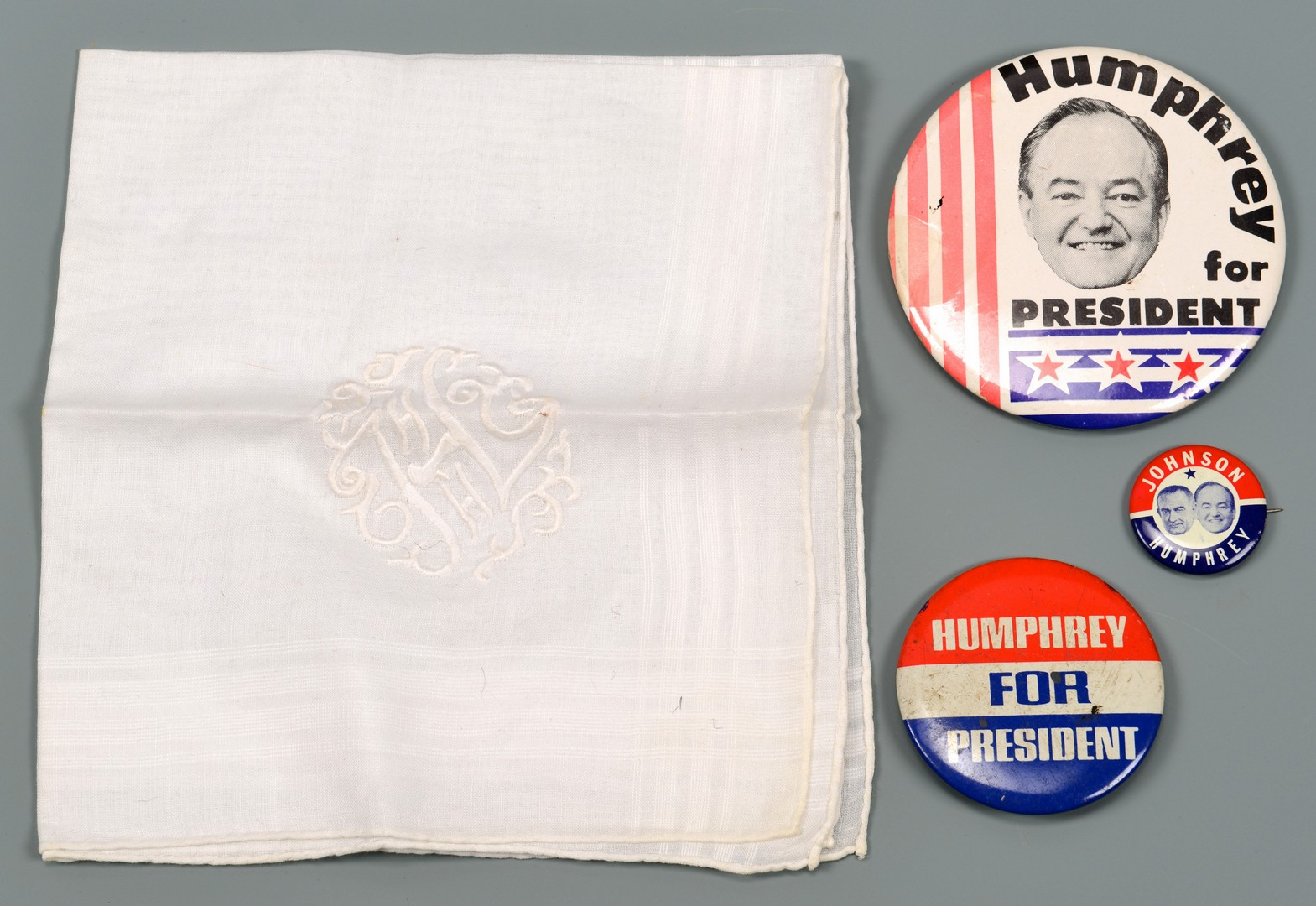 Lot 579: Presidential Memorabilia: Woodrow Wilson & Hubert