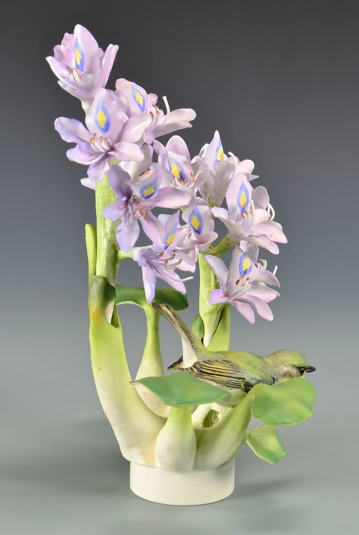 Lot 592: Two Dorothy Doughty Birds, Yellow Throats
