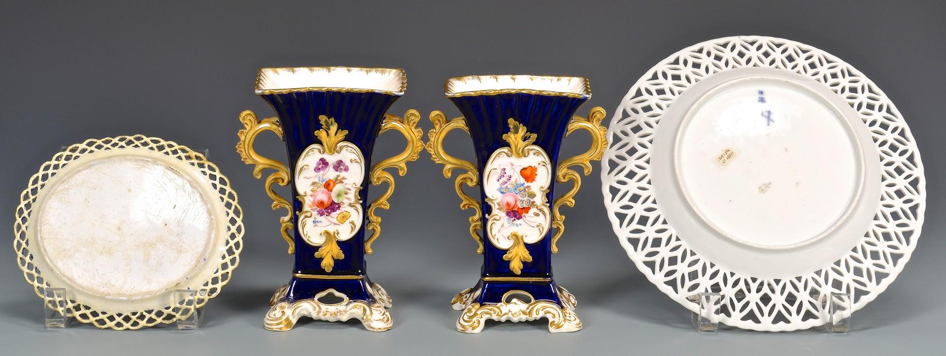 Lot 601: Large Grouping of European Porcelain