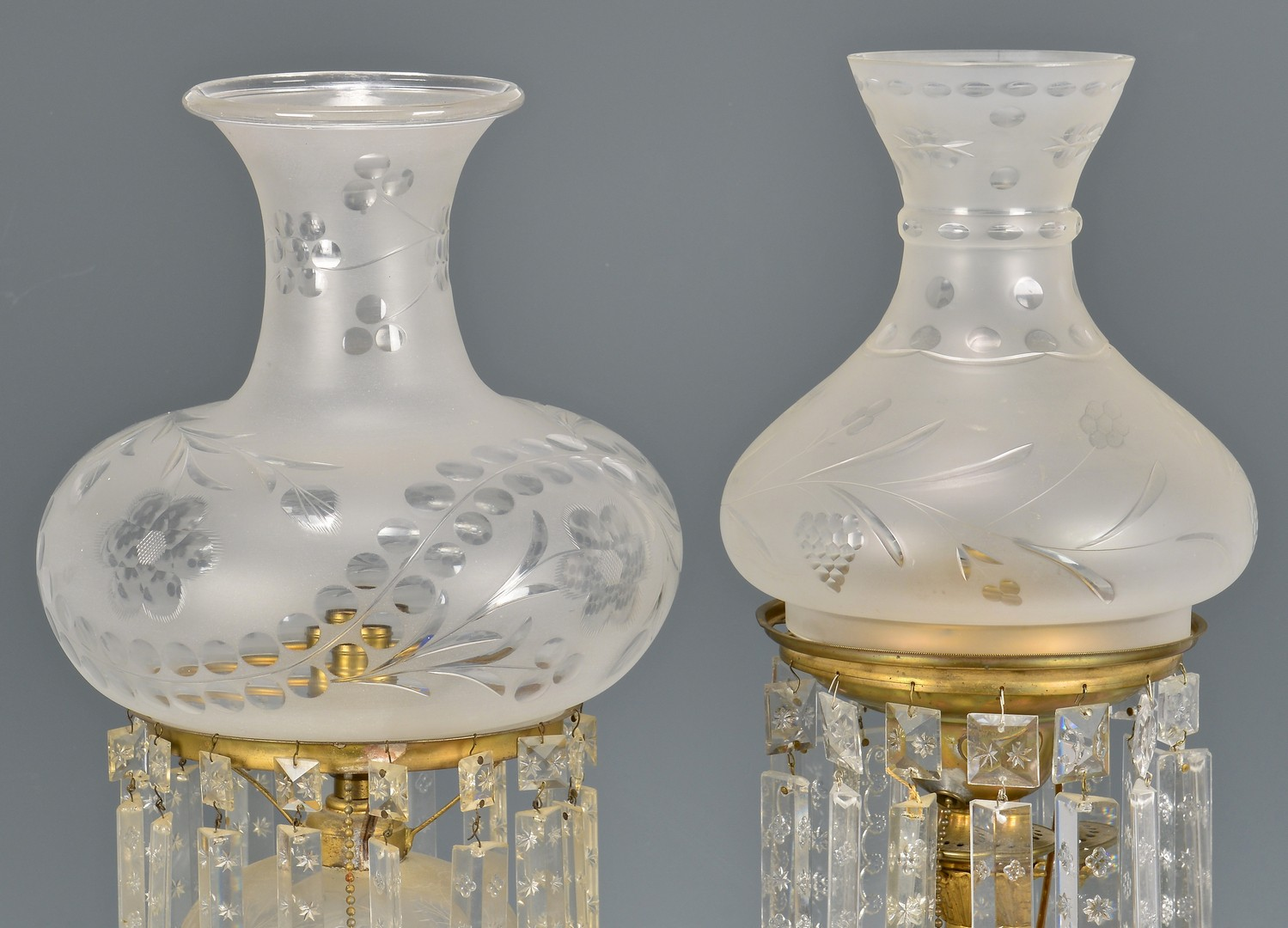 Lot 611: 2 Early Lamps