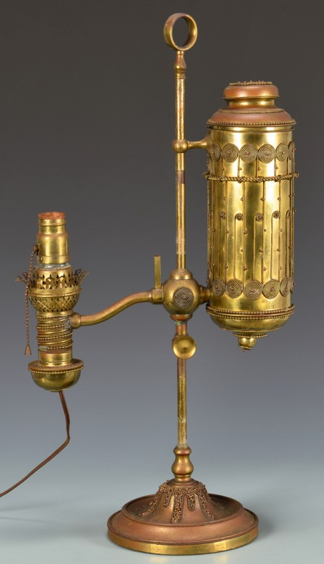 Lot 614: Tiffany/Manhattan Student Lamp