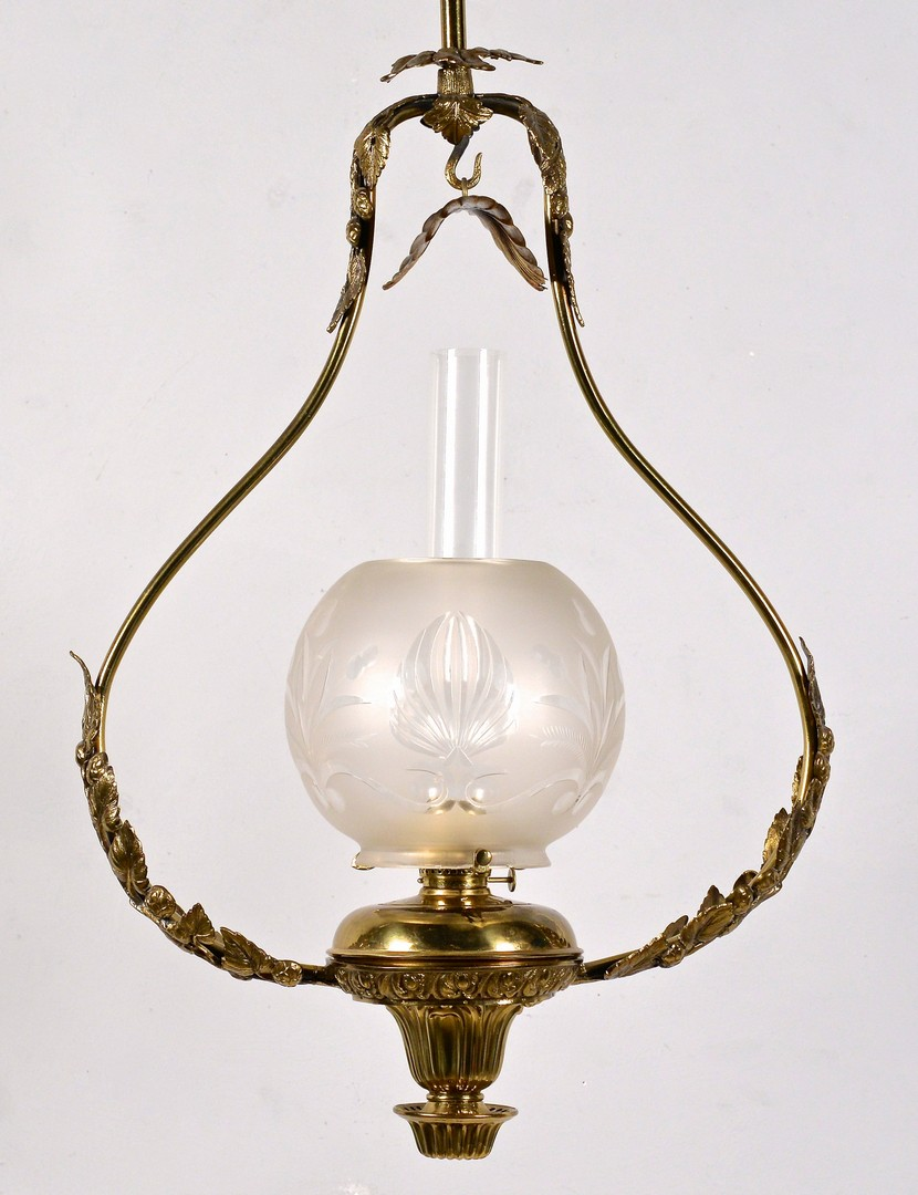 Lot 615: Hanging Solar Lamp