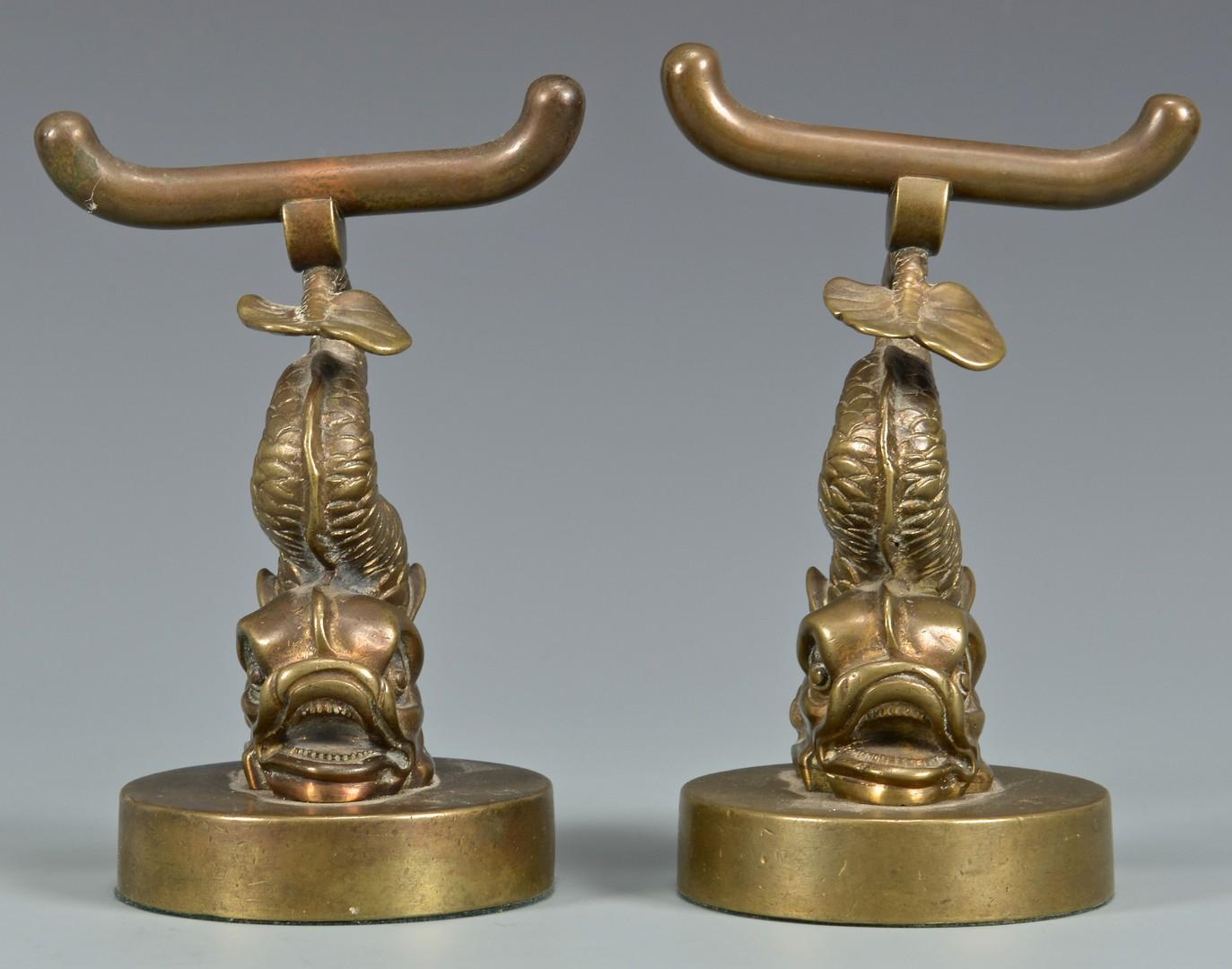 Lot 619: Bronze Napoleon Sculpture on Horseback & Bronze Do
