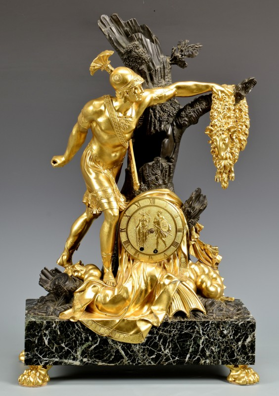 Lot 623: Restoration Ormolu Clock style of Choiselat