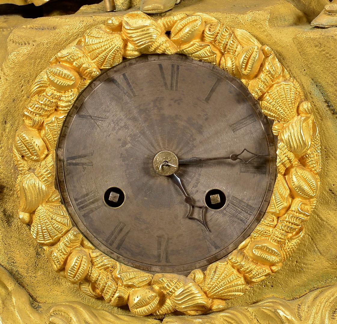 Lot 626: French Gilt Bronze Figural Clock, Legrand