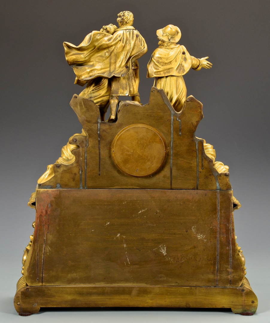 Lot 626: French Gilt Bronze Figural Clock, Legrand