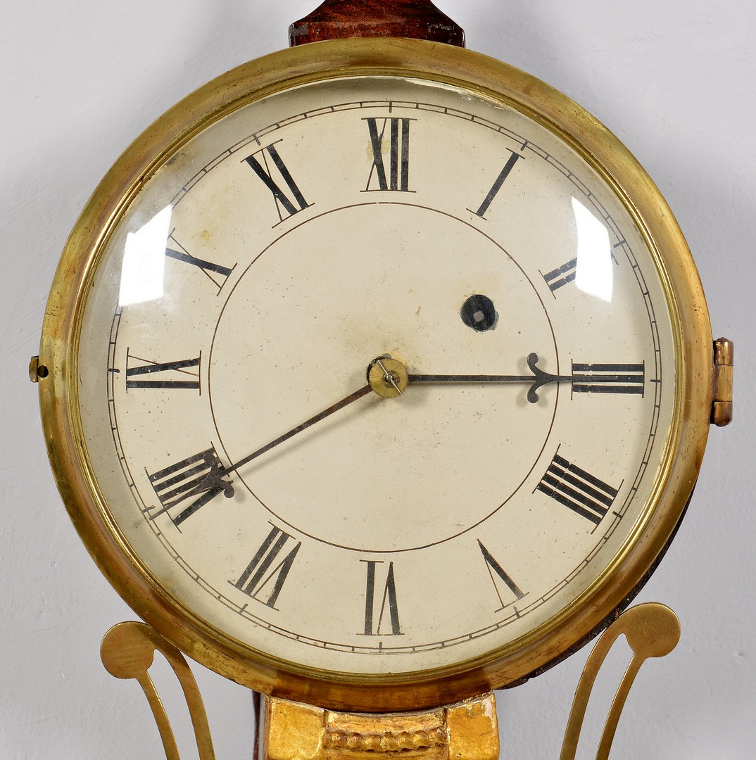 Lot 629: Federal Banjo Clock