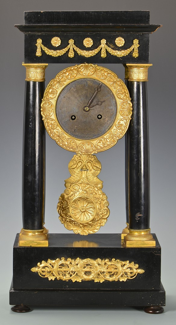 Lot 632: 2 19th Century French Mantle Clocks