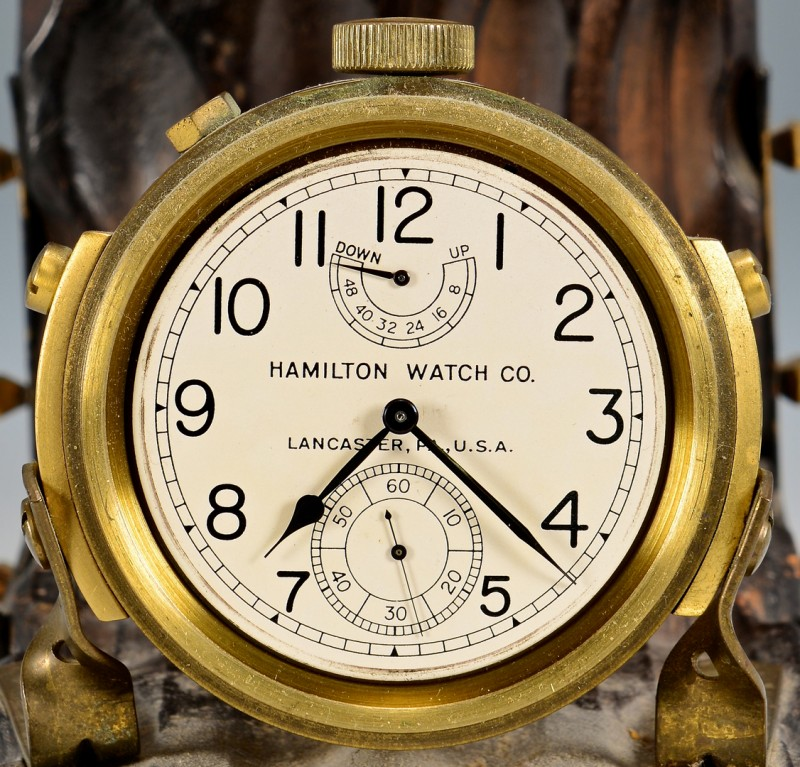 Lot 635: Hamilton Model 22 Ship Chronometer