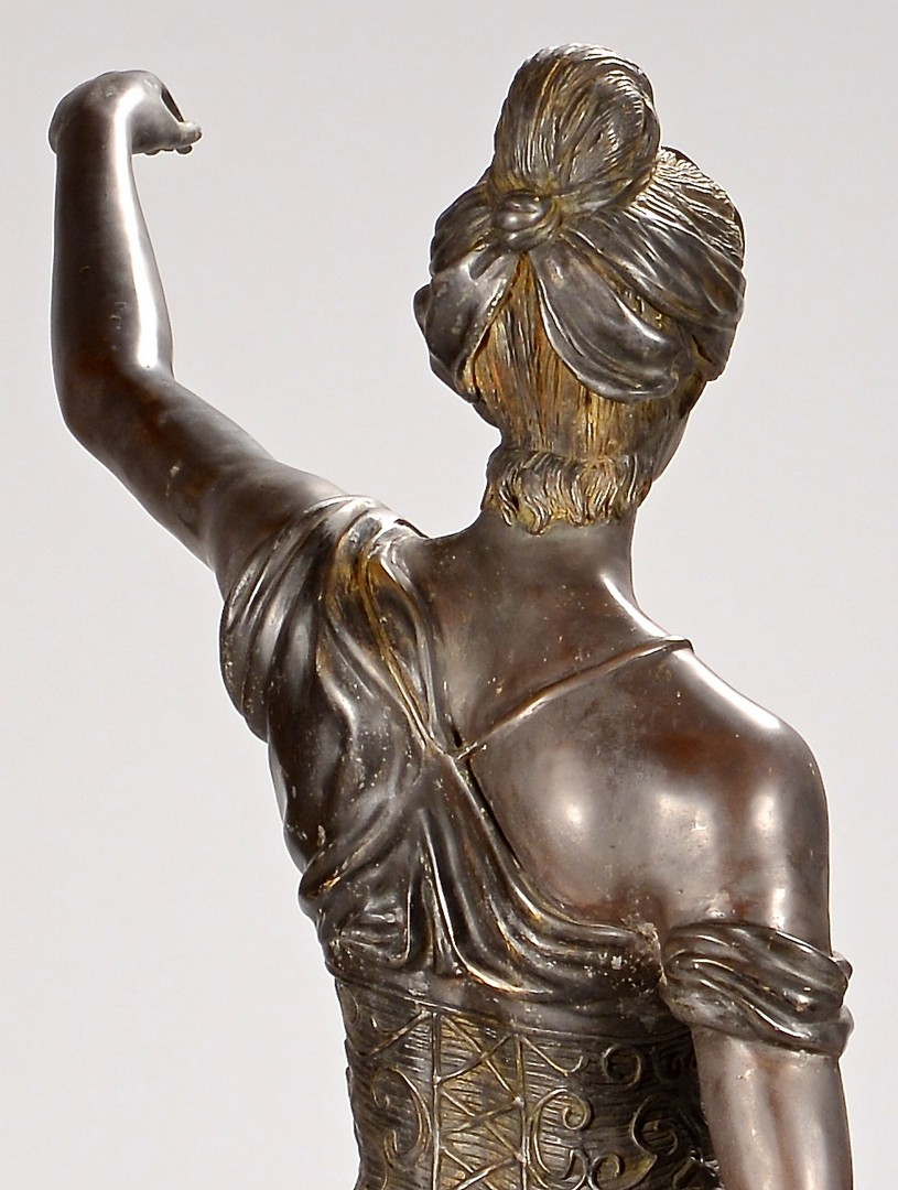 "Lot 645: After L. Steiner, Lady Justice, 63""H"