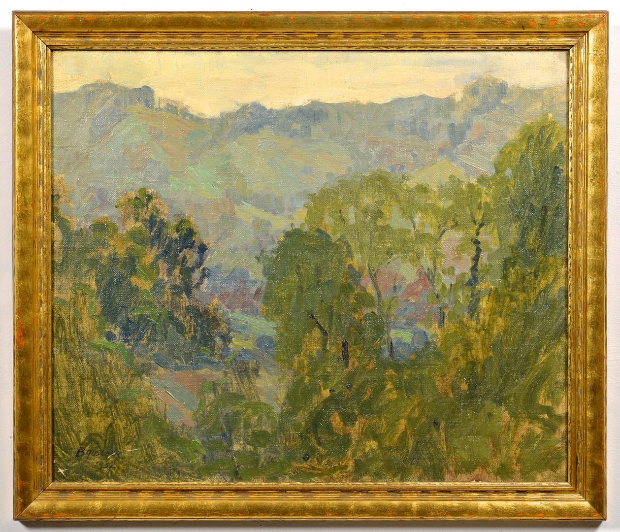 Lot 653: John T. Bauscher O/B, KY Landscape