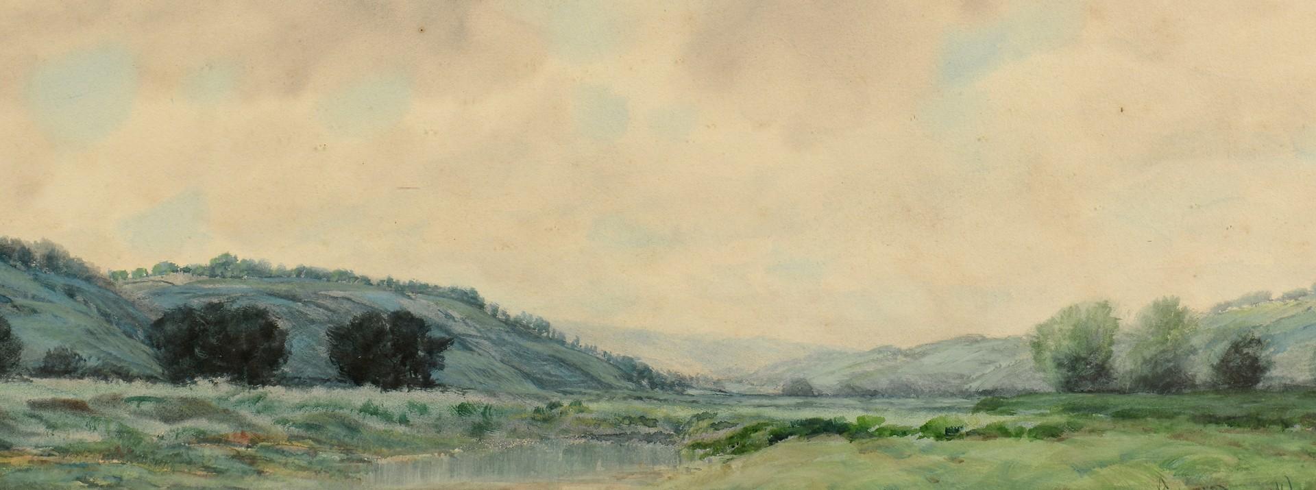 Lot 654: Kentucky, Robert Burns Wilson Watercolor