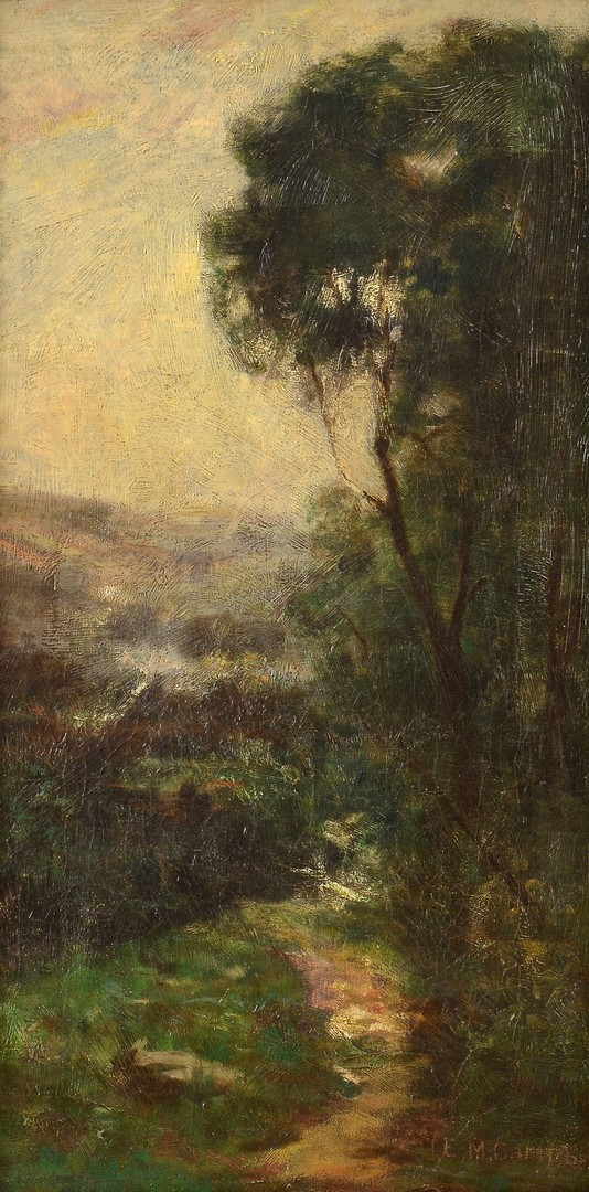 Lot 656: Pair Edward M. Campbell Landscapes