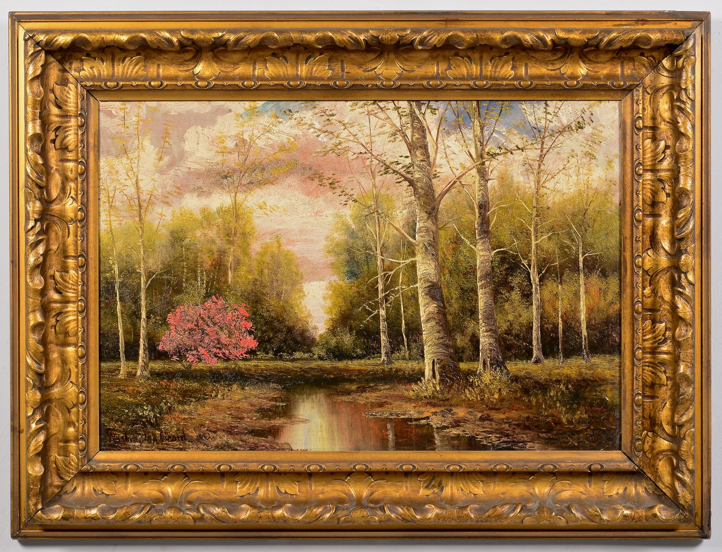 Lot 663: Washington Girard TN Oil Landscape