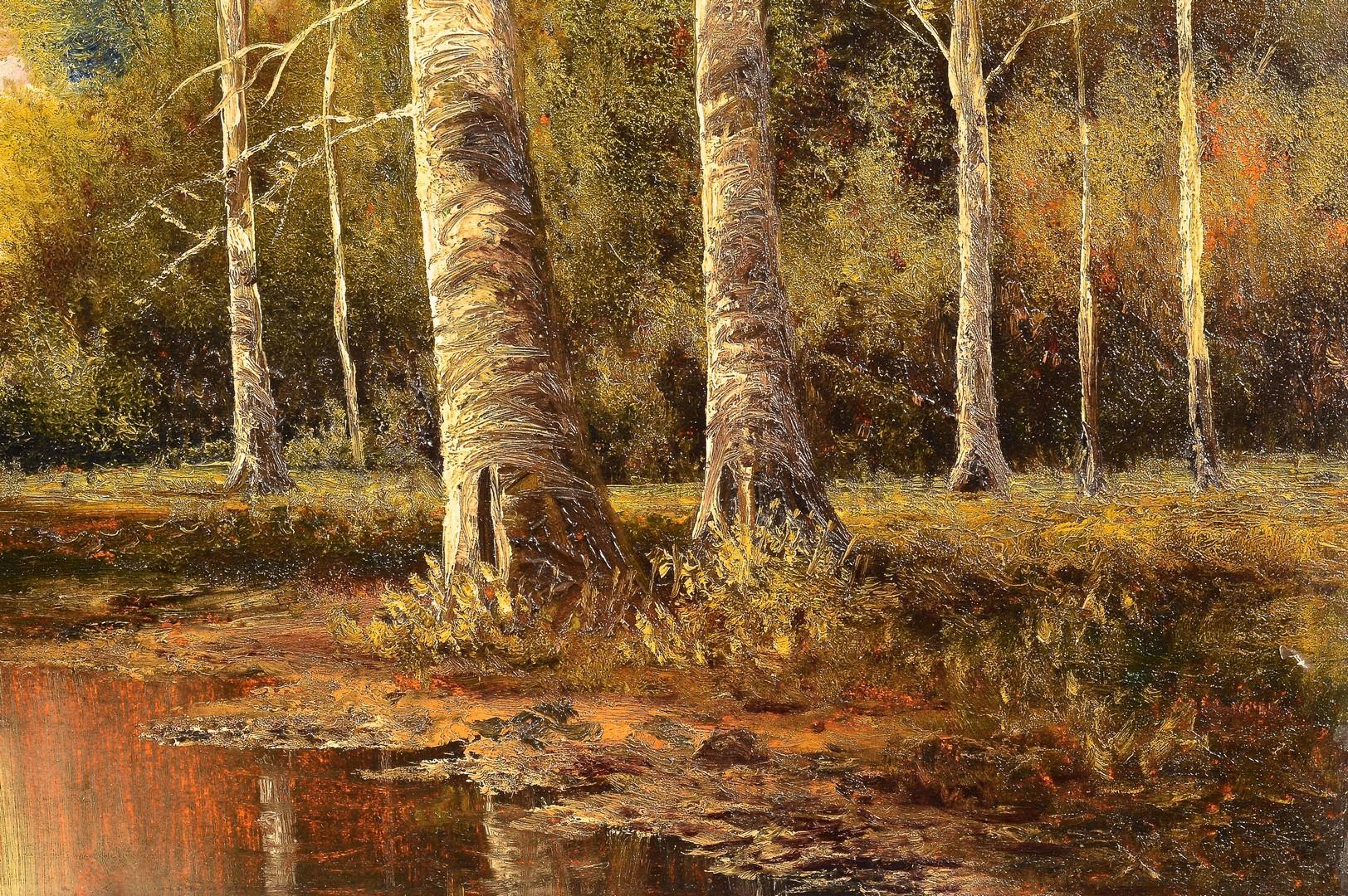 Lot 663: Washington Girard TN Oil Landscape