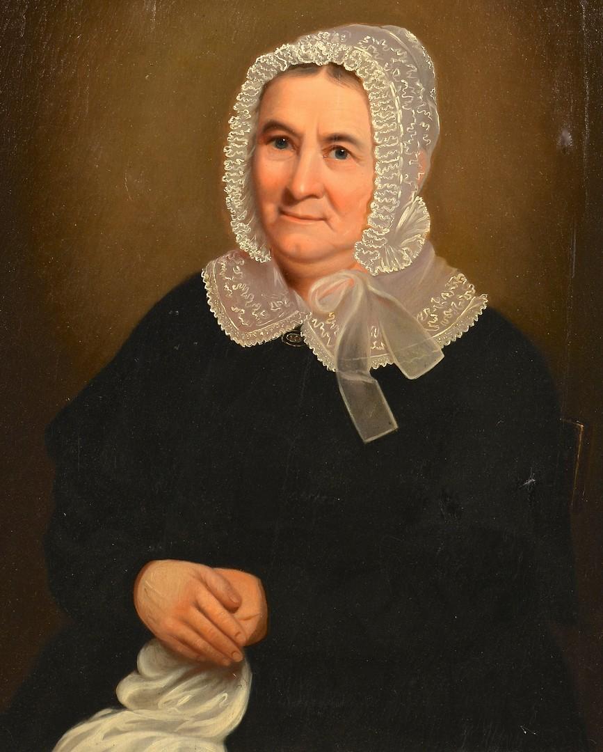 Lot 664: Attr. W.B. Cooper, portrait of a woman