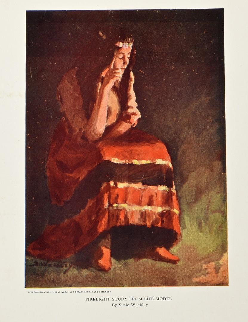 Lot 665: Sue Weakley TN art archive