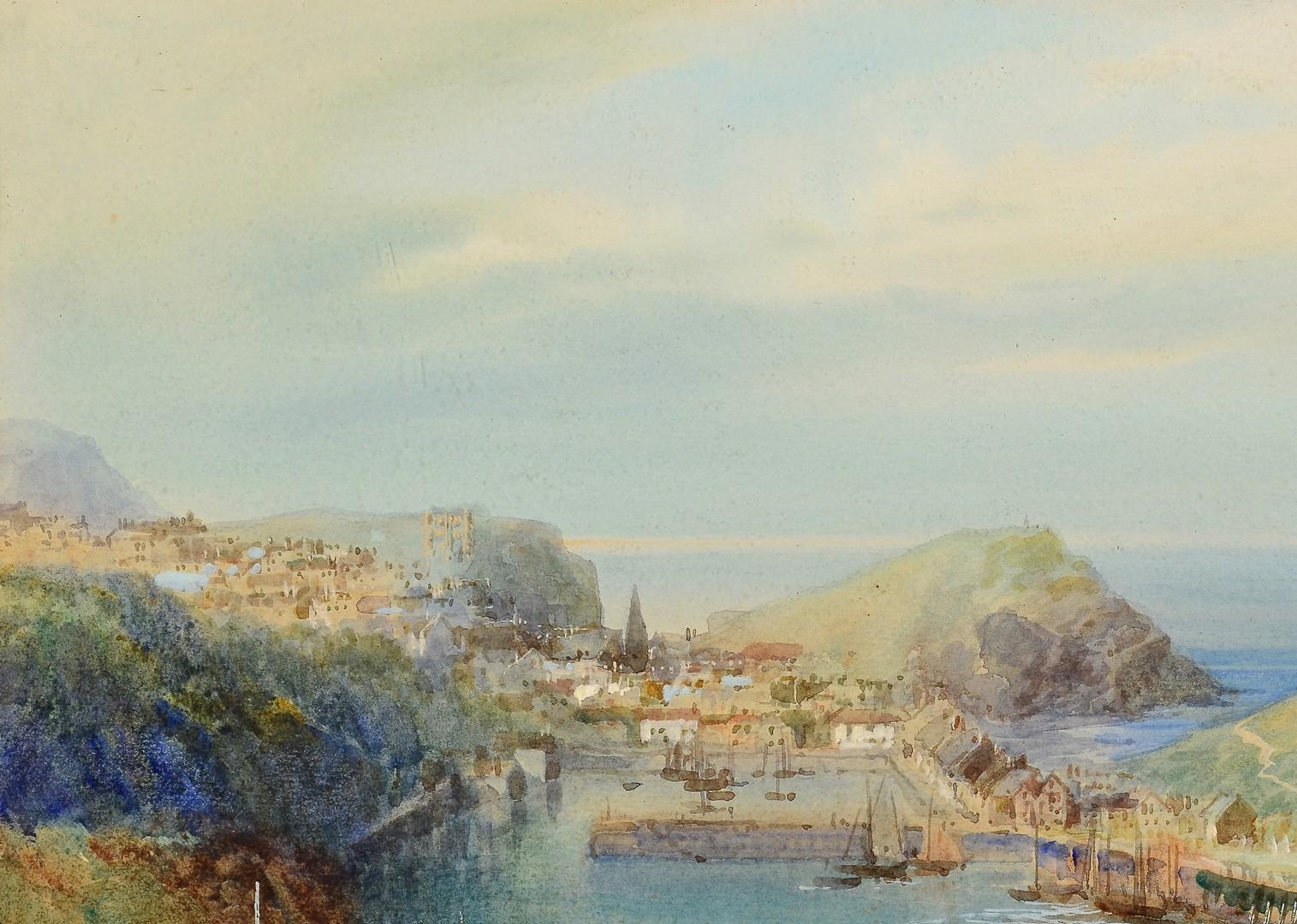 Lot 671: Walter H. Sweet, W/C N. Devon Harbor