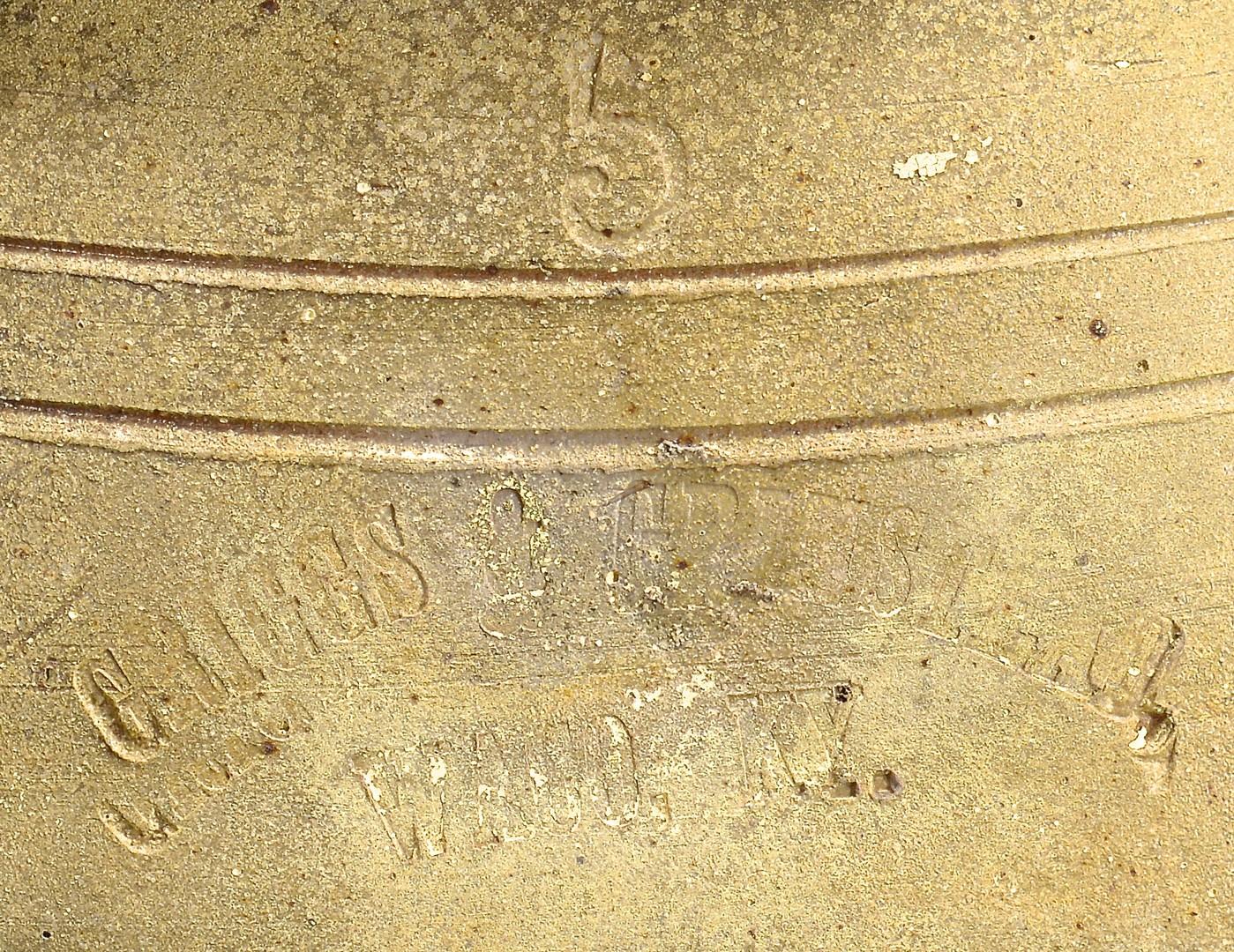 Lot 690: Kentucky Stoneware, Griggs Grinstead & Huffman
