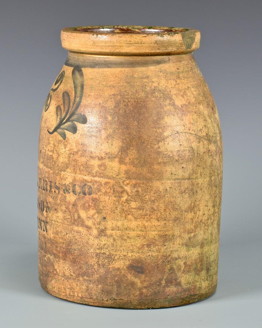 Lot 695: West TN Pinson Pottery Jar