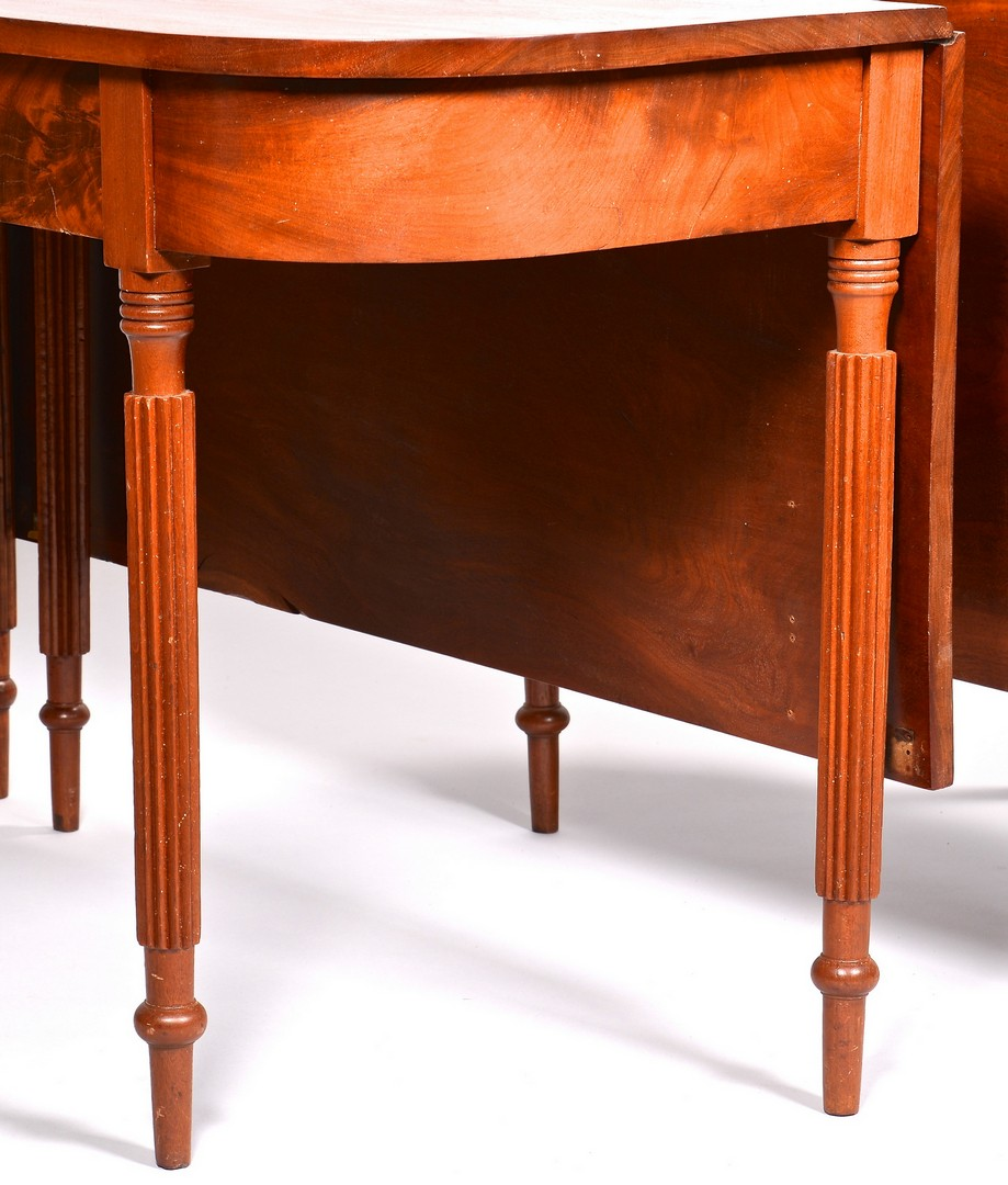 Lot 698: Tennessee Banquet End Dining Table