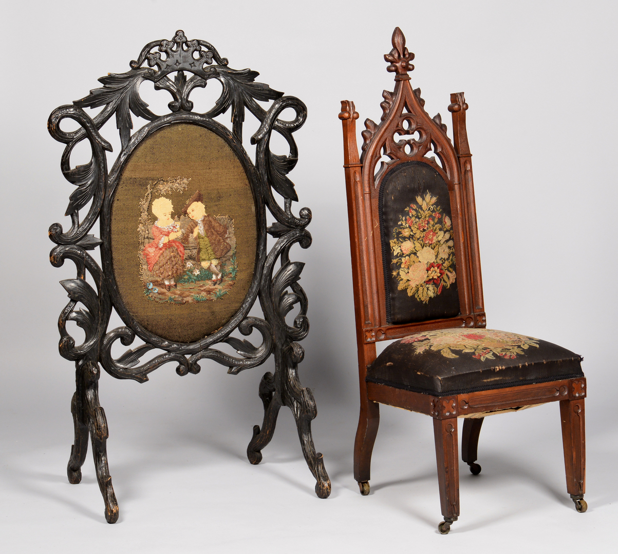 Gothic furniture chair - Gothic Furniture Chair 2