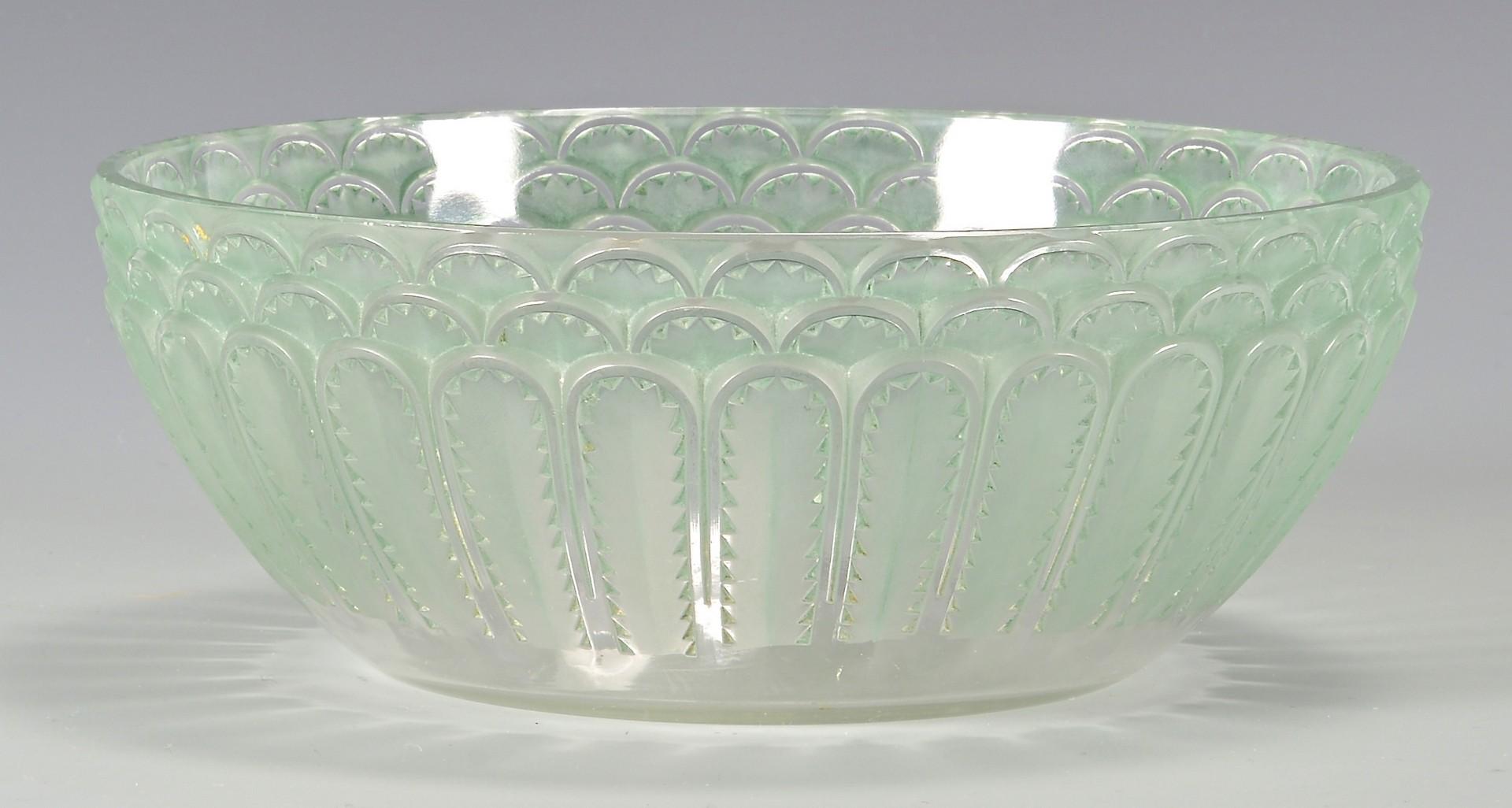 Lot 733: Rene Lalique Jaffa Bowl
