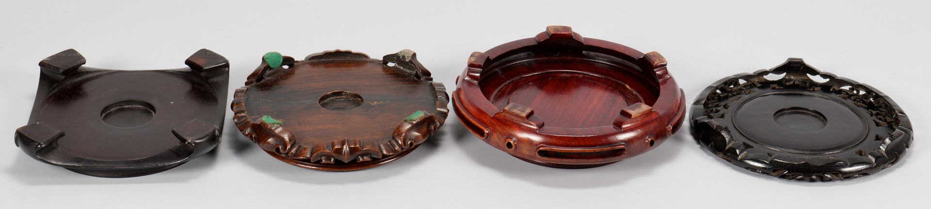 Lot 762: Group of 16 Assorted Asian & European Hardwood Sta