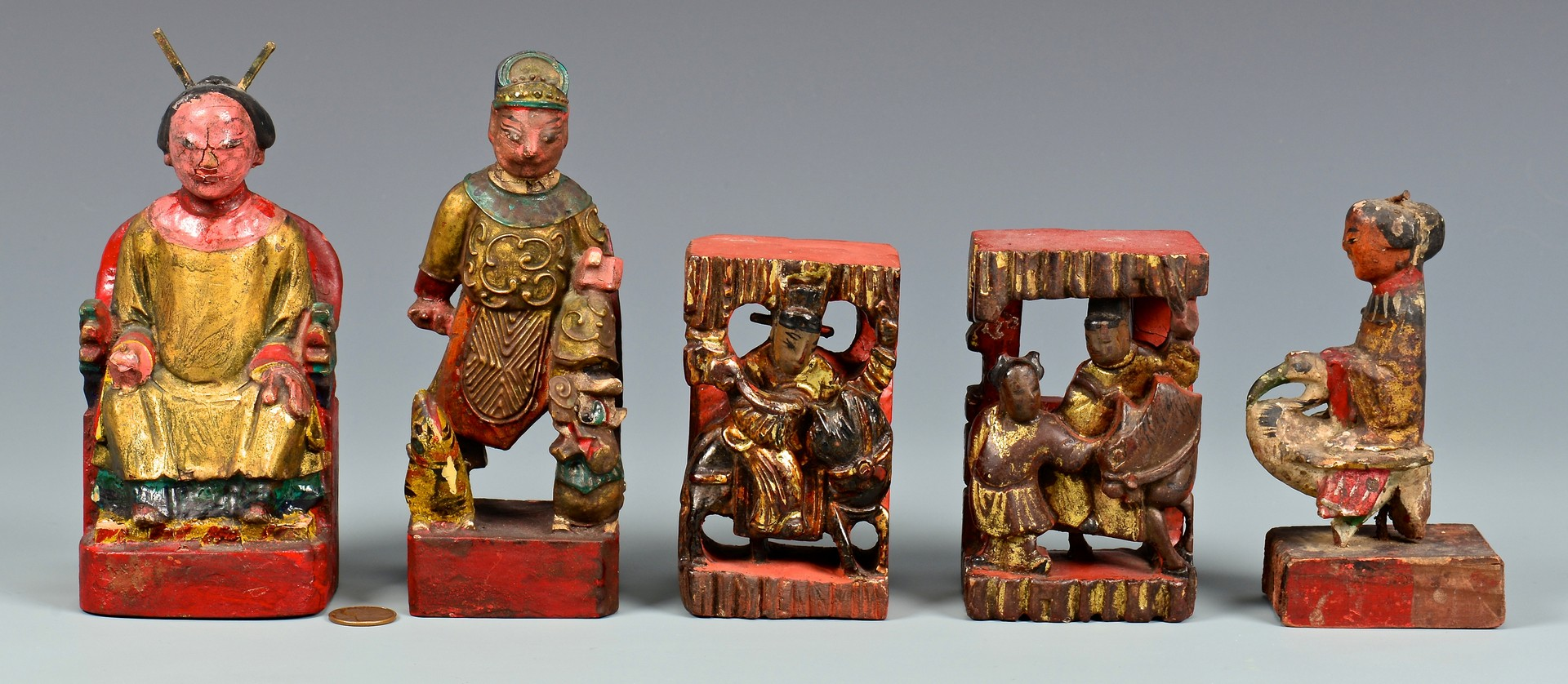 Lot 769: Assorted Small Chinese & Asian Items