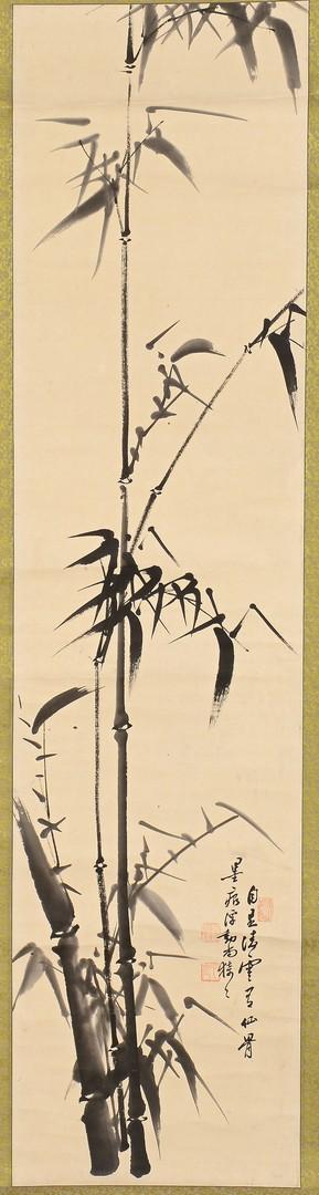Lot 771: Asian map & scroll paintings