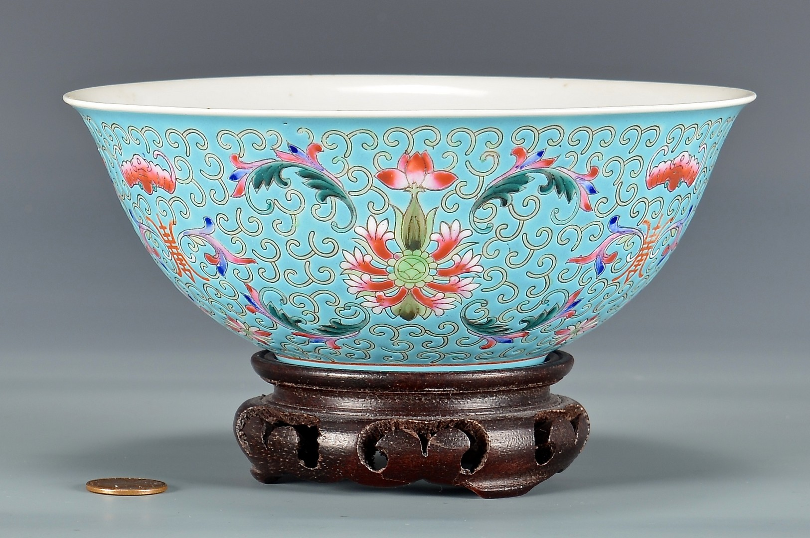 Lot 773: Chinese Famille Rose Republic Bowl