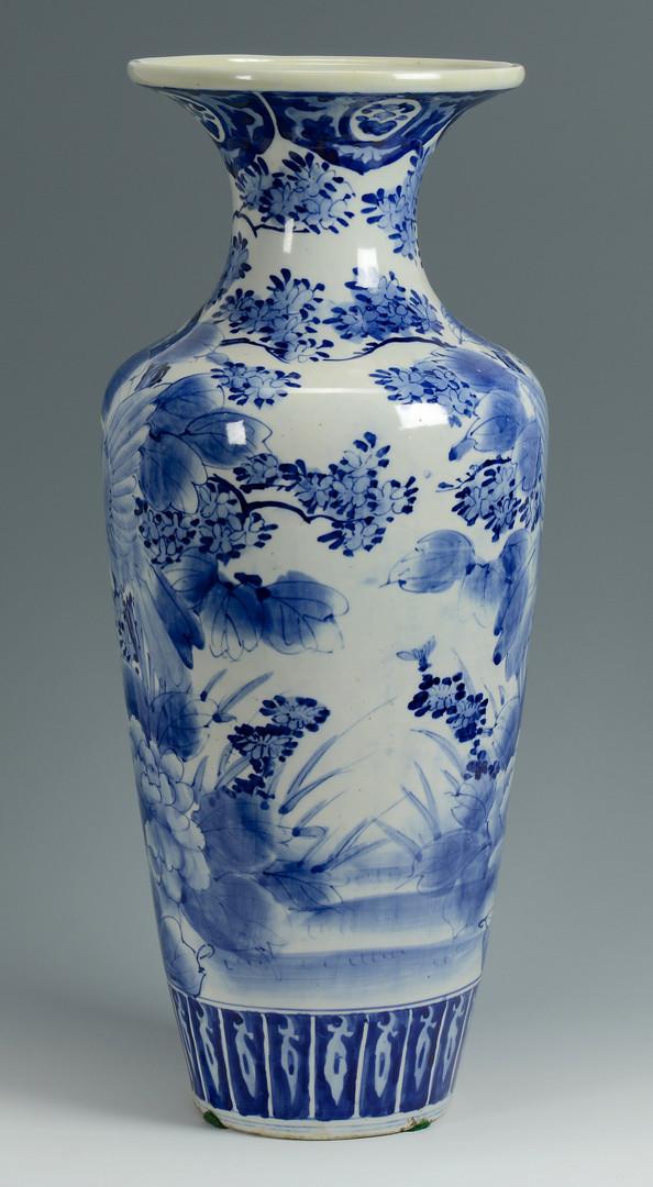 Lot 776 Japanese Arita Blue Amp White Floor Vase