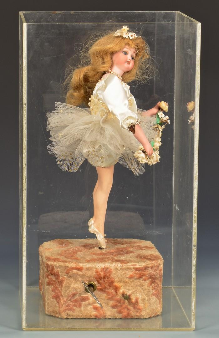 Lot 784: French Vichy Doll Automaton, Knaffl-Hof Building P