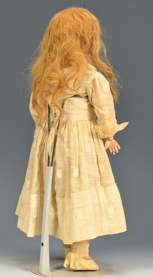 Lot 789: 3 German dolls inc. Kestner Bru type
