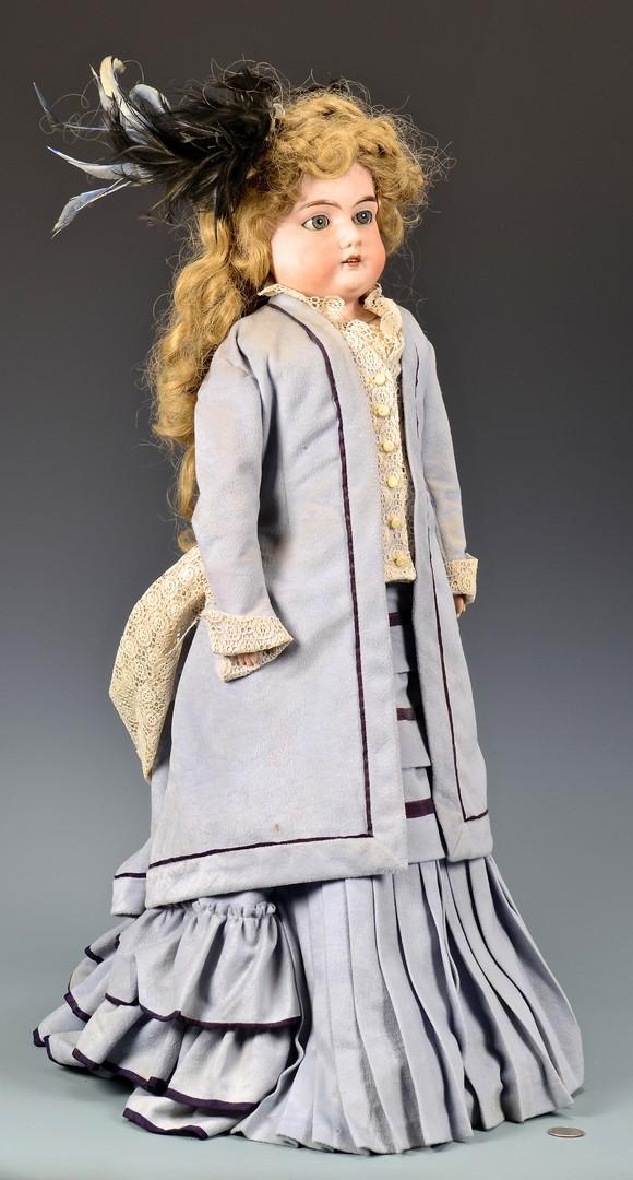 Lot 790: Kestner Character Doll, AM Duchess Doll (2)