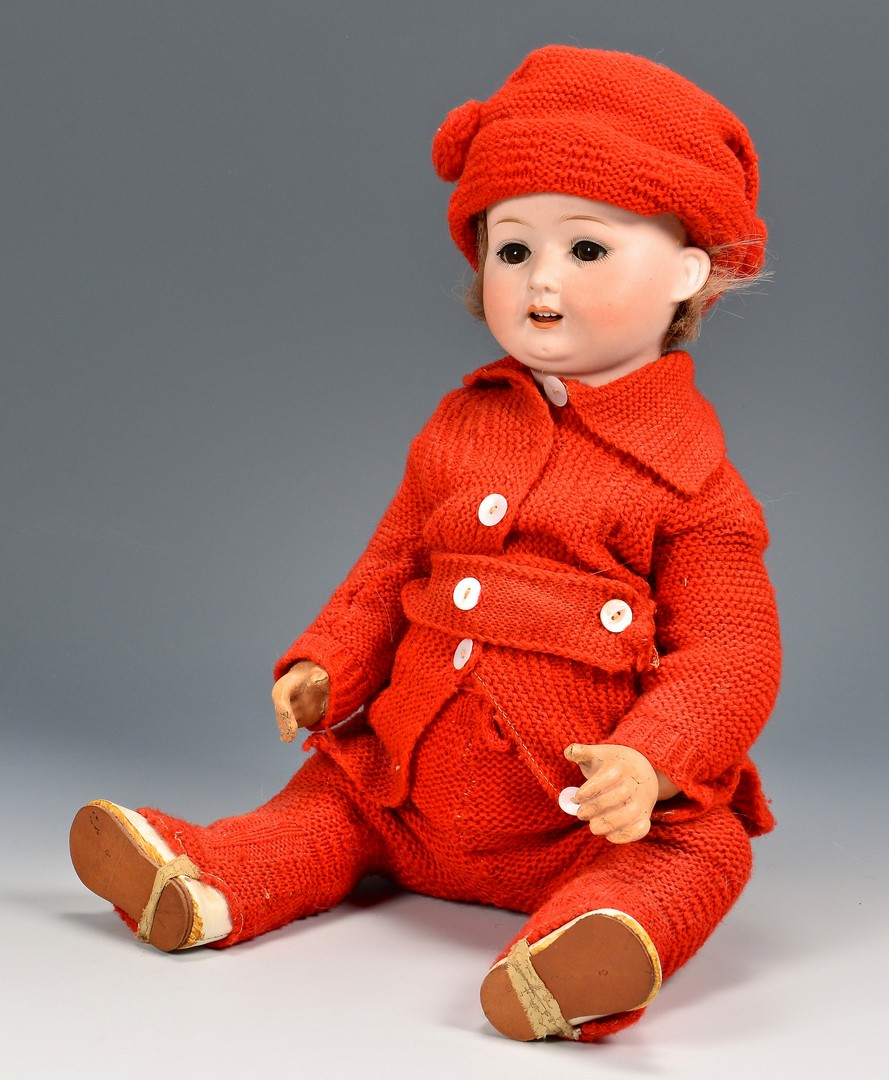 Lot 791: 3 Dolls inc. German Boy Character Doll