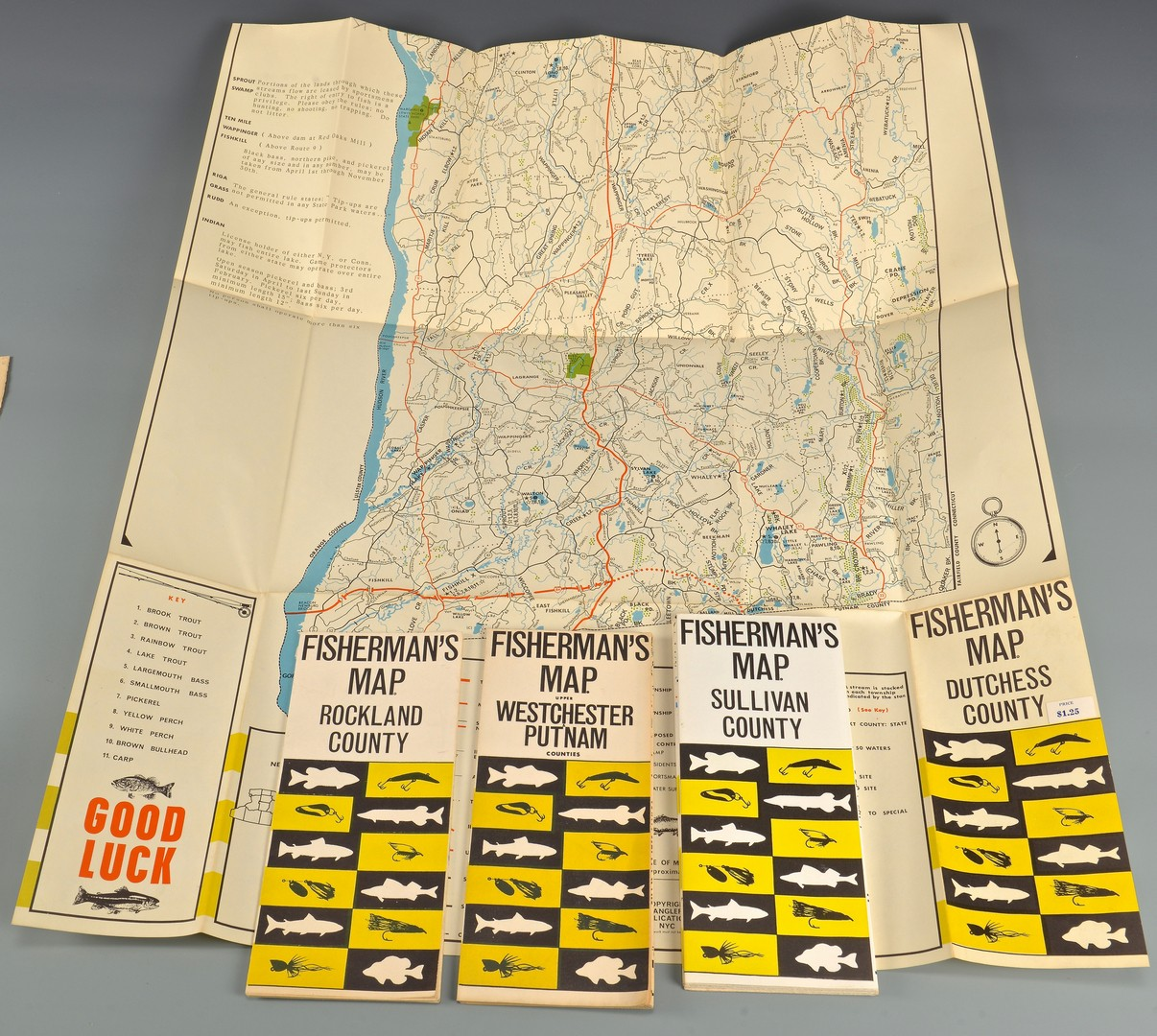 Lot 806: Fly Fishing Archive incl. Maps & Books