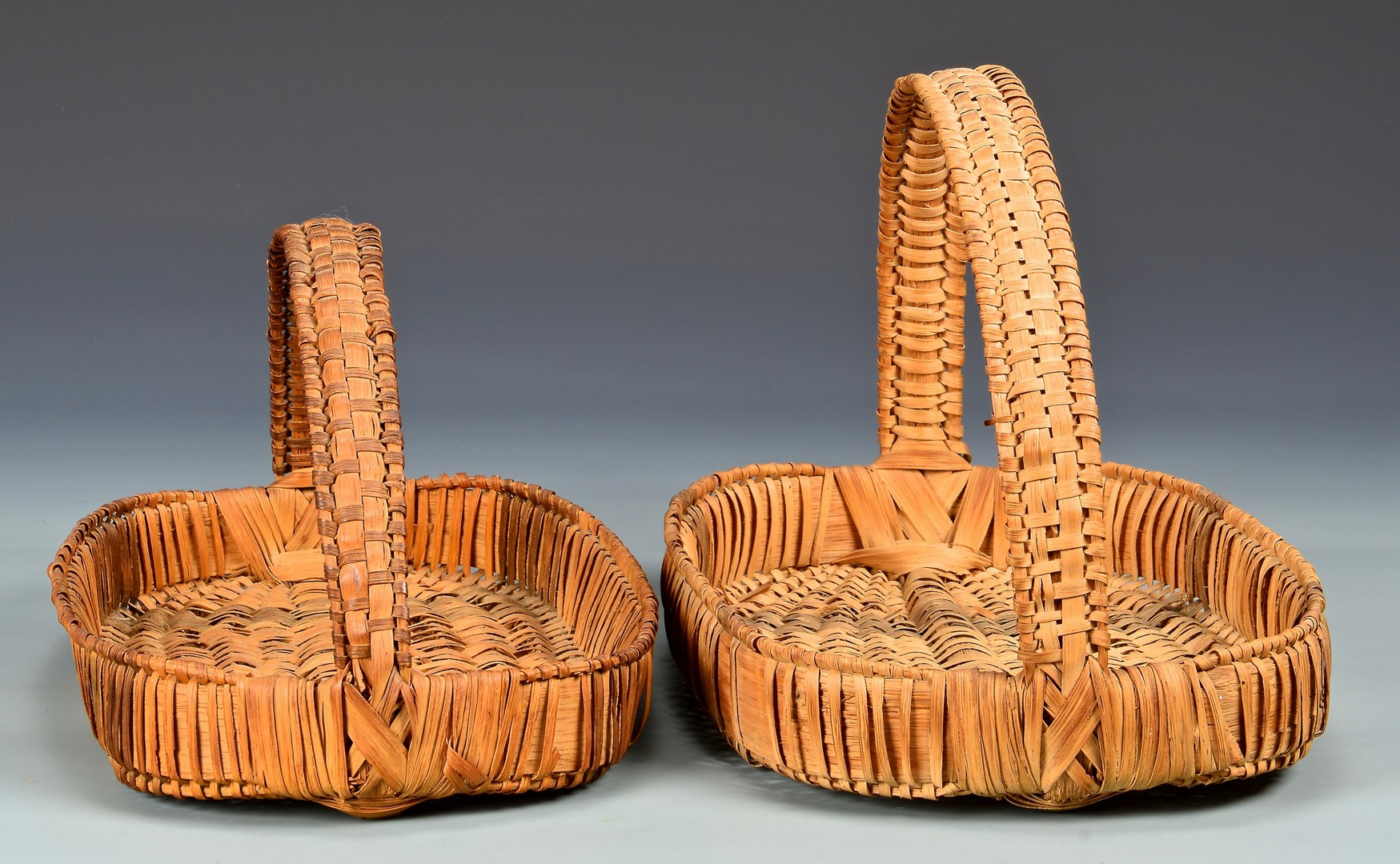 Lot 812: 4 Cherokee Split Oak Baskets