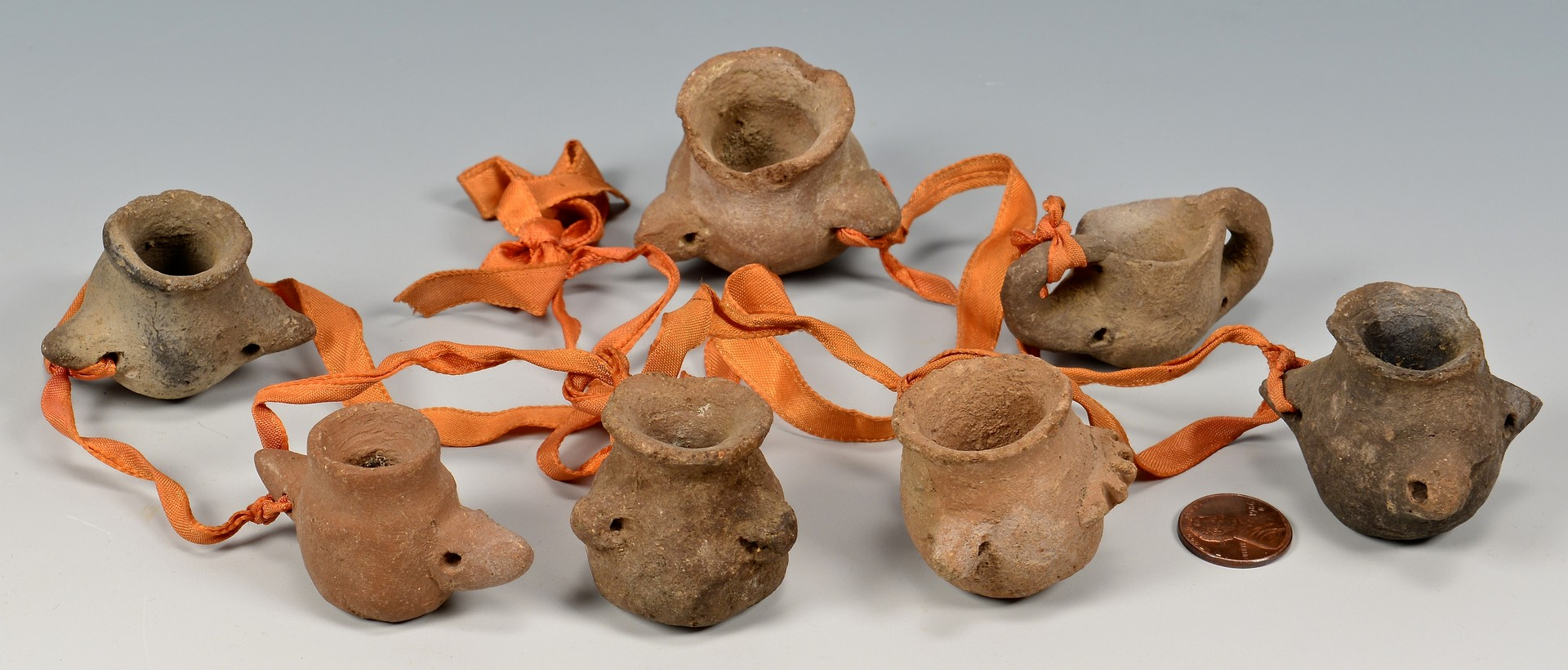 Lot 814: Southwestern Indian Pottery 10 pcs.